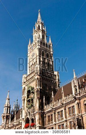 Neues Rathaus in München, Deutschland