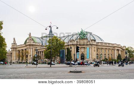 The Grand Palais Des Champs-elysees. Paris, France