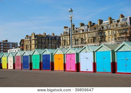 Beach Huts in Hove/Brighton