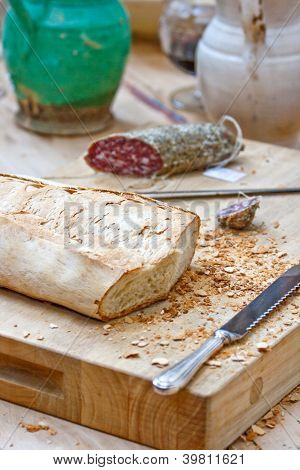 Bread And Salame