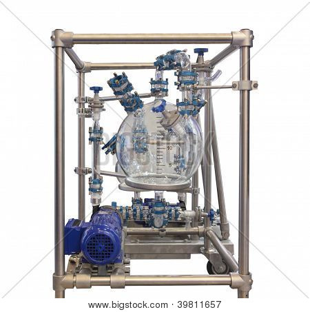 Glass Chemical Reactor