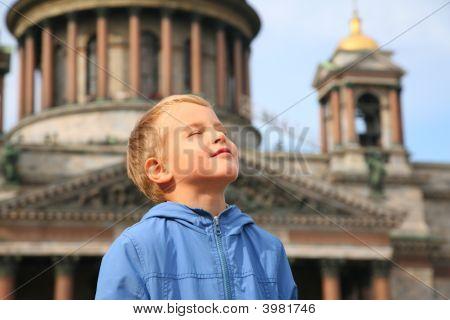 Boy In St.Petersburg