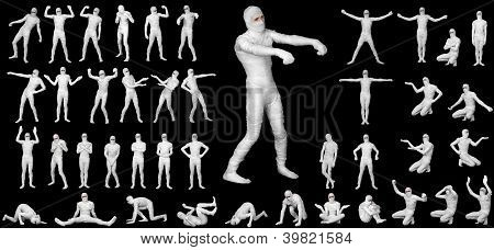 Mummy Costume Set