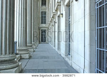 Judicial System Building Architecture