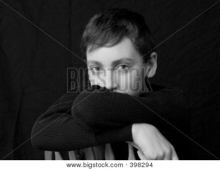 Rapaz adolescente