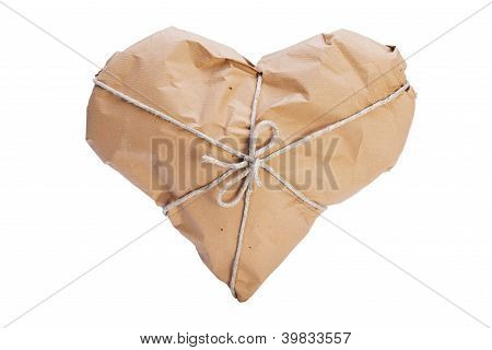 Heart Wrapped For Shipping