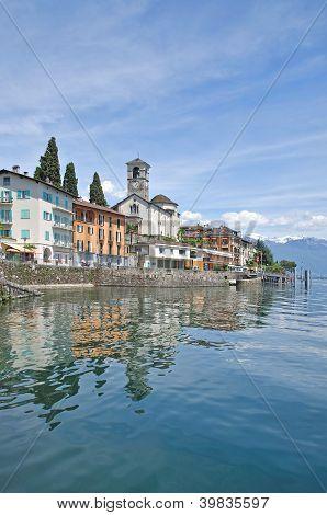 Brissago,Lake Maggiore,Ticino,Switzerland