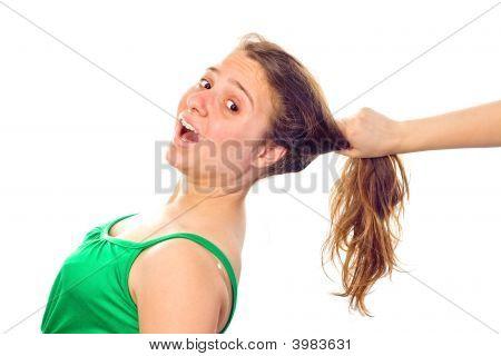 Grabbing The Girl'S Hair