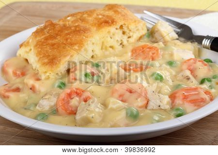 Chicken Pot Pie Dinner
