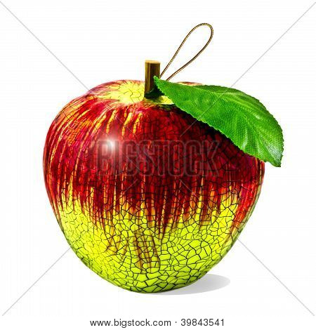 Christmas Apple Bauble