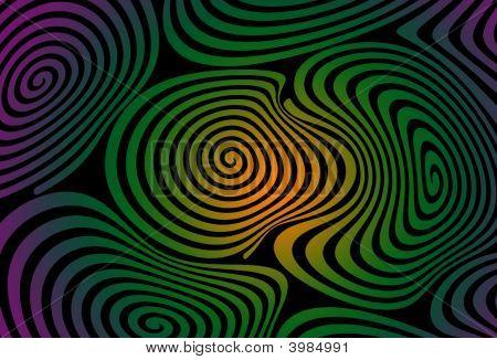 Multi-colored Swirls