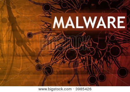 Malware-Sicherheitswarnung