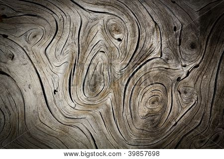 Wood Swirls Organic Dark Background Texture