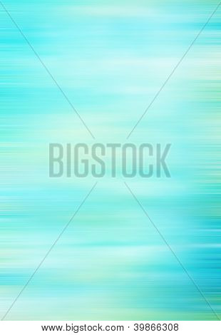 Abstract Textured Background: White, Yellow, And Green Patterns On Blue Sky-like Backdrop