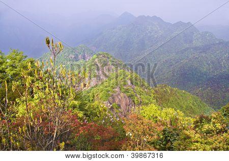 travelling at nailing ridge of china