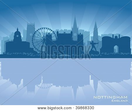Nottingham, England Skyline
