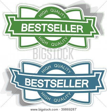 Bestseller sticker set.