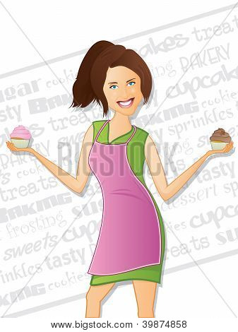 Bakery Woman