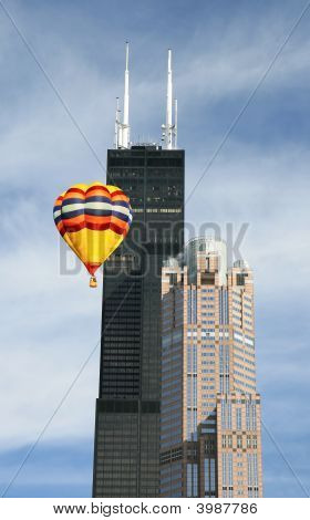 The Sears Tower In Chicago