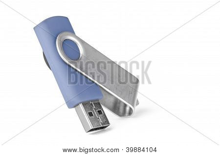 Blue Usb Memory Stick