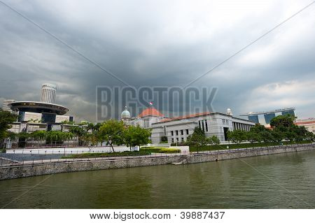 Parliament House And The supreme Court (old And New)