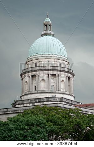 The Old Supreme Court Of Singapore.