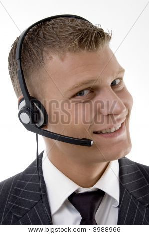 Nahaufnahme des Kundendienstes