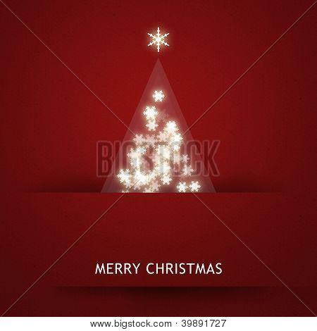 Elegant Christmas card