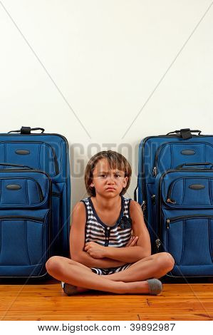 Unhappy Traveller