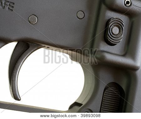 Magazine Release And Trigger