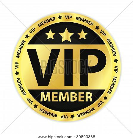 Vip Member Golden Label