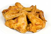 Cooked Chicken Wings poster