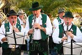 Munich Germany - October 16: American Orchestra Playing On Octoberfest October 16 2007 In Munich.