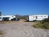 picture of snowbird  - rv