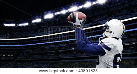 American Football Touchdown Catch