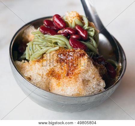 Famous Malaysian Cendol Dessert