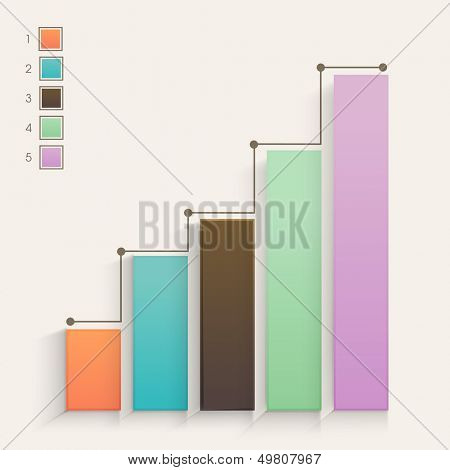 Abstract business growth background.