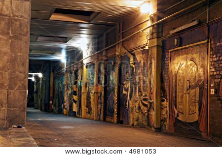 Graffiti Art Alley