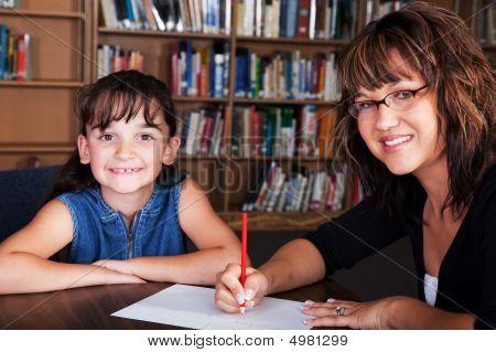 Happy Spelling Student