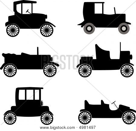 Old Timers Vector Illustration