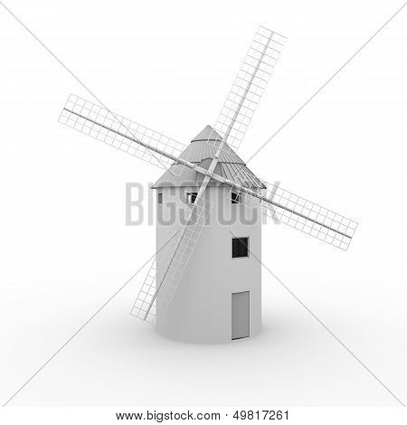 Windmill Front View