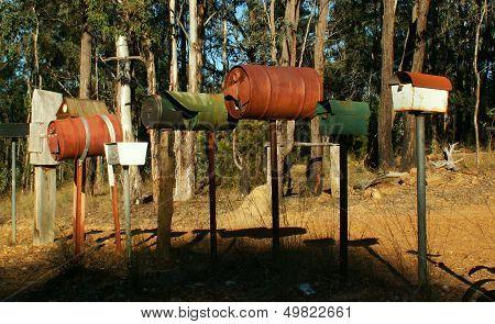 Australian letterboxes