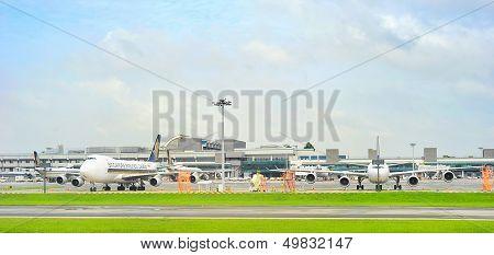 Changi International Airport View
