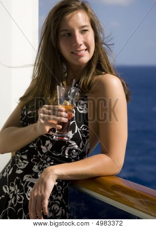 Cocktail On A Cruise Ship