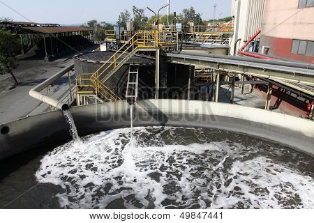 Water Treatment Plant With