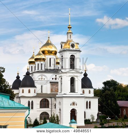 Assumption Cathedral Of Dmitrov Kremlin, Russia