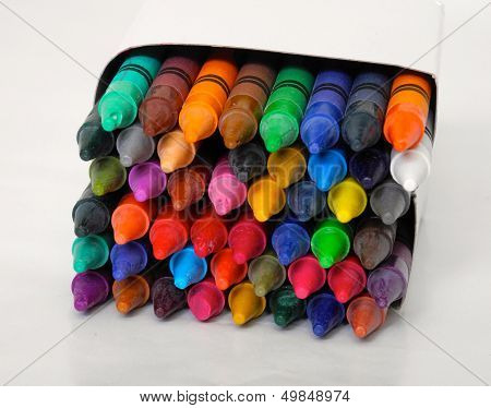 A Box of Crayons for School