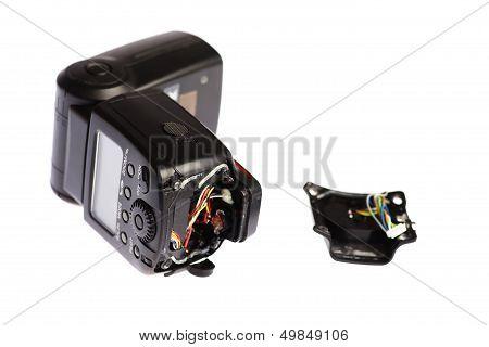 Broken Camera Flash