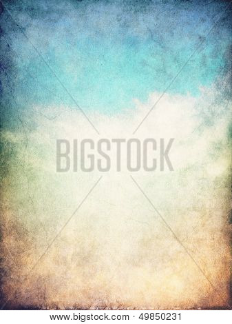 Grunge Cloud Background