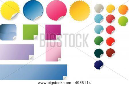 Peeling Stickers